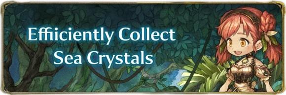 Efficiently Collect Sea Crystals