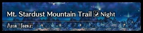 Mt. Stardust Mountain Trail (Night)