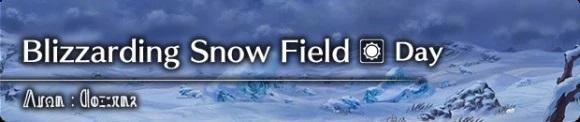 Blizzarding Snow Field (Day)