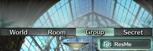 How to Open the Group Menu