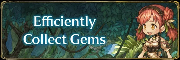 Efficiently Collect Gems