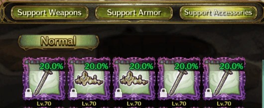 Raise Your Rank to Unlock Support Equipment