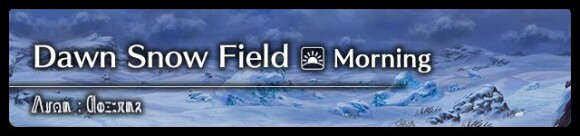 Dawn Snow Field (Morning)